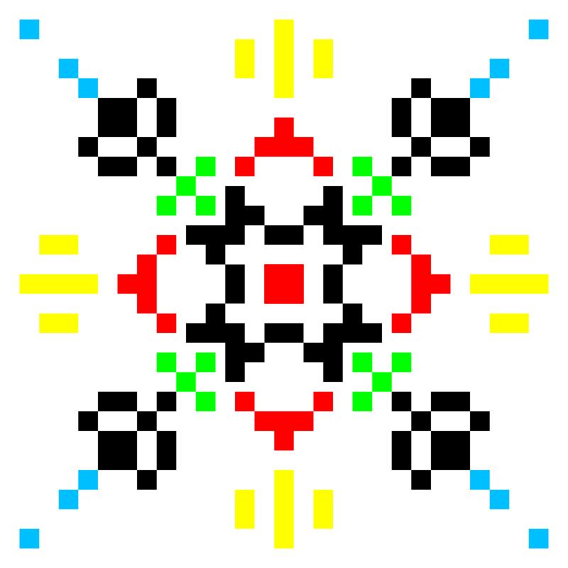 Текстовий слов'янський орнамент: Матвій