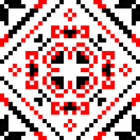 Текстовый украинский орнамент: Батько