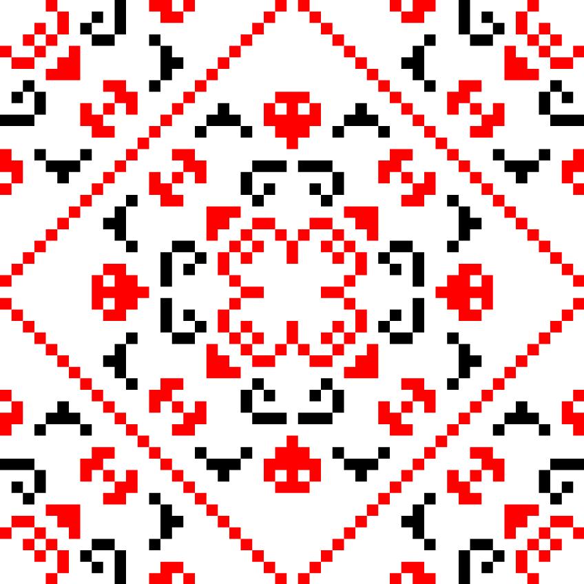 Текстовий слов'янський орнамент: Брайан