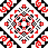 Текстовый украинский орнамент: Казанова