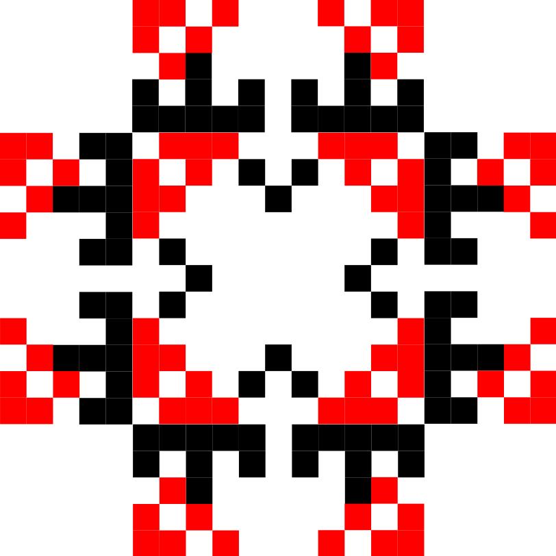 Текстовий слов'янський орнамент: Сузiр'я терези (сТЕР)