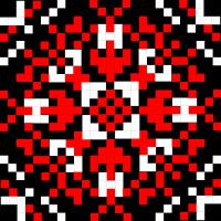 Текстовый украинский орнамент: Захисник
