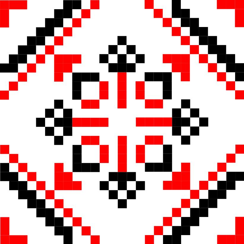 Текстовий слов'янський орнамент: Влад