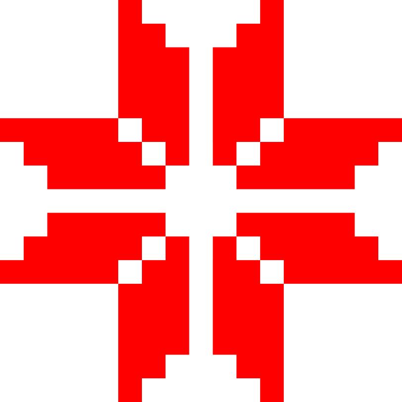 Текстовий слов'янський орнамент: Зiрка