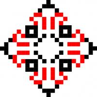 Текстовый украинский орнамент: юра