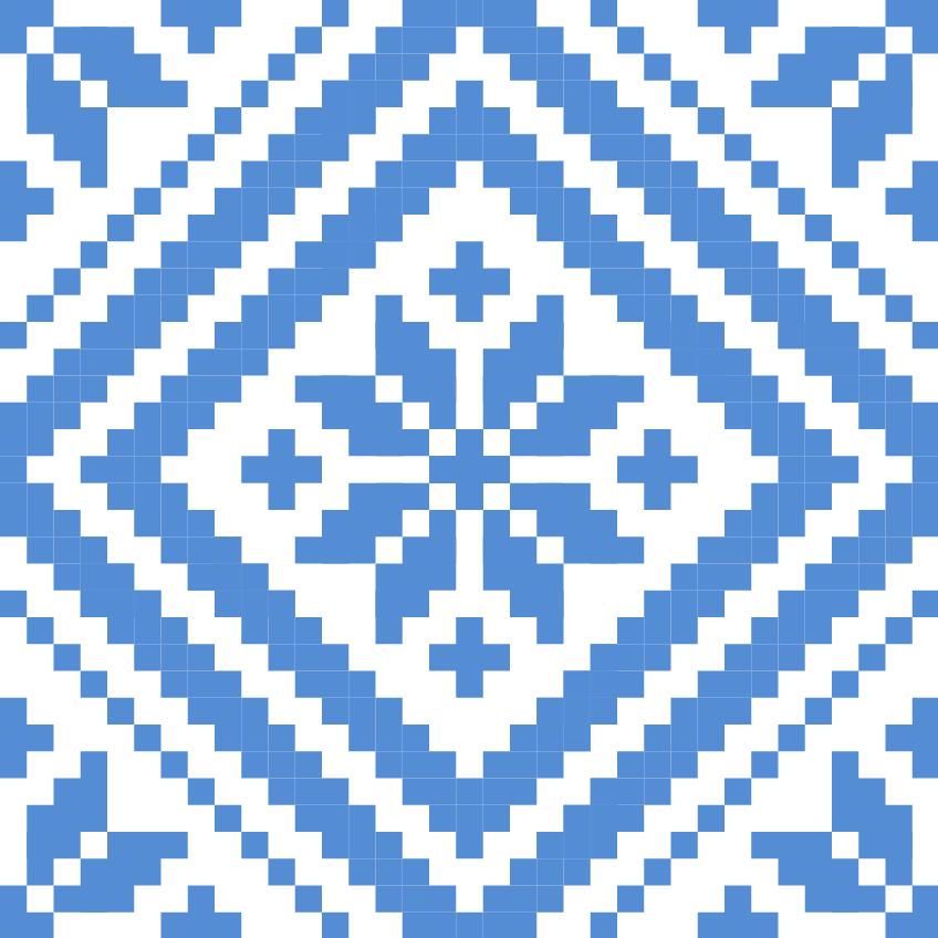 Текстовий слов'янський орнамент: Звезда (гармония и порядок)