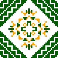 Текстовый украинский орнамент: Полтава