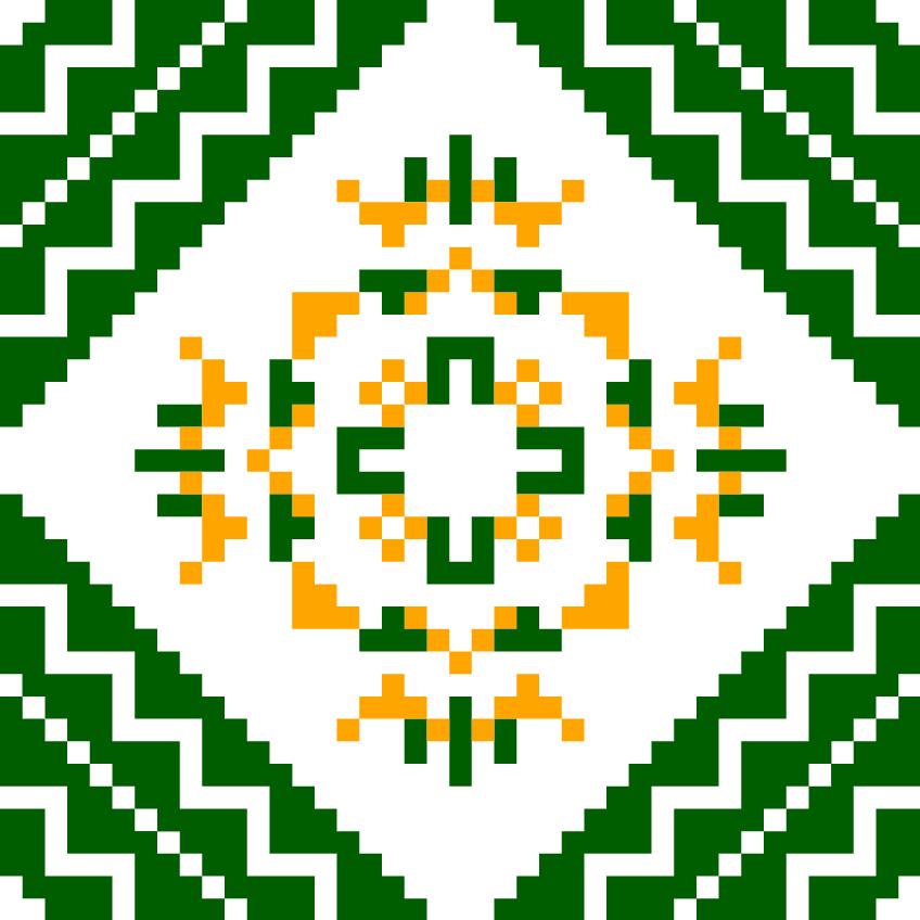 Текстовий слов'янський орнамент: Полтава