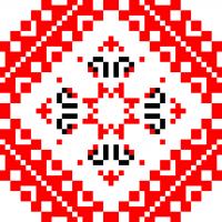 Текстовый украинский орнамент: Мрiя