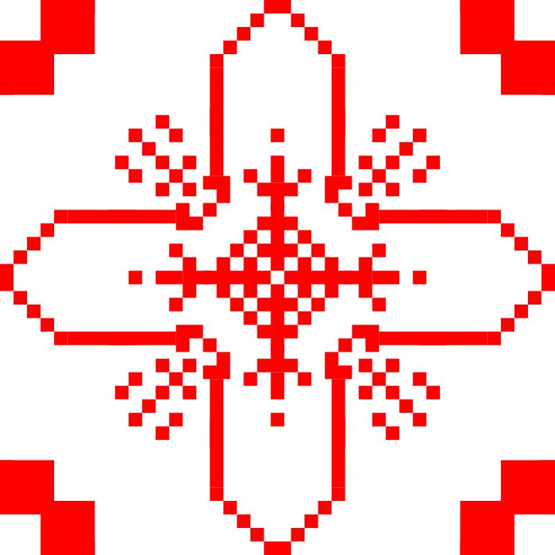 Текстовий слов'янський орнамент: м.Фастім