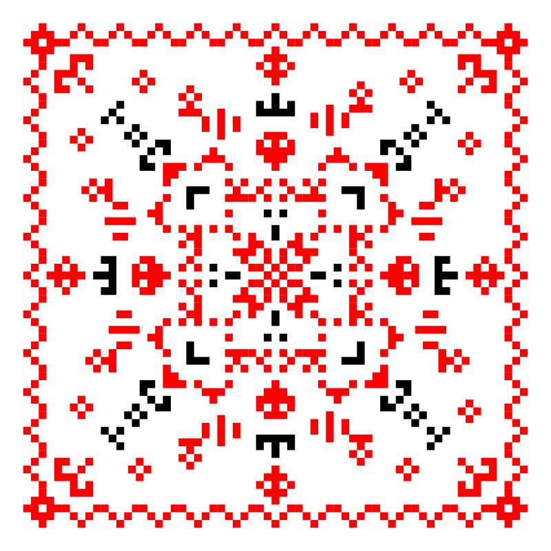 Текстовий слов'янський орнамент: Семейство СМ