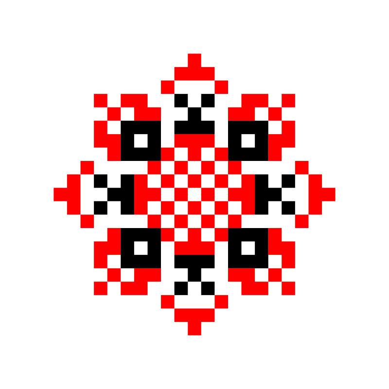 Текстовий слов'янський орнамент: ДОЧКА