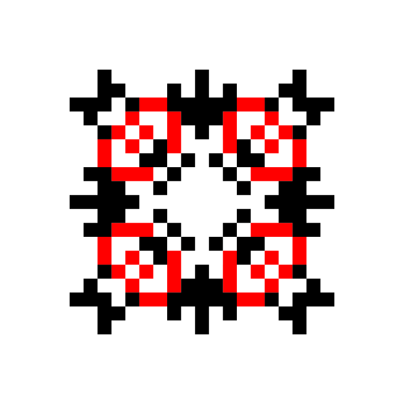 Текстовий слов'янський орнамент: КРИМ