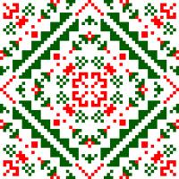 Текстовый украинский орнамент: Бегонія
