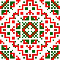 Текстовый украинский орнамент: Азалія