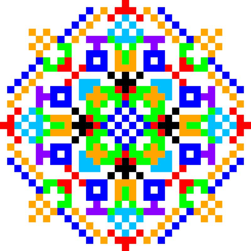 Текстовий слов'янський орнамент: талисман