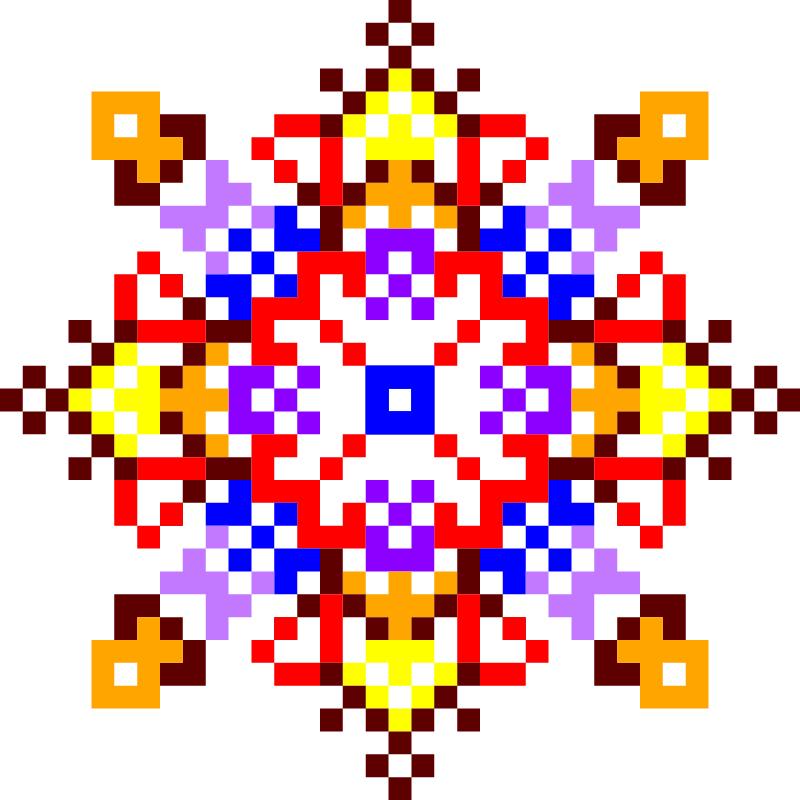 Текстовий слов'янський орнамент: божья мудрость