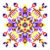 Текстовый украинский орнамент: талисман