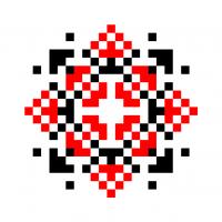 Текстовый украинский орнамент: НАД!Я