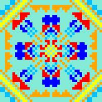 Текстовый украинский орнамент: светлана