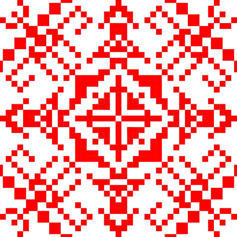 Текстовий слов'янський орнамент: Віталій
