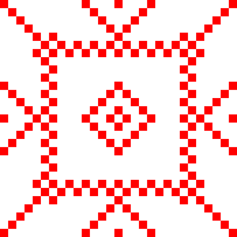 Текстовий слов'янський орнамент: Джива