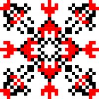 Текстовый украинский орнамент: Олена К