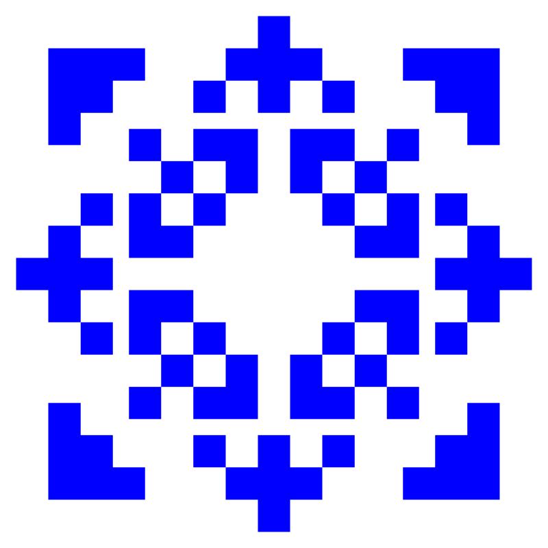 Текстовий слов'янський орнамент: ФАЯ