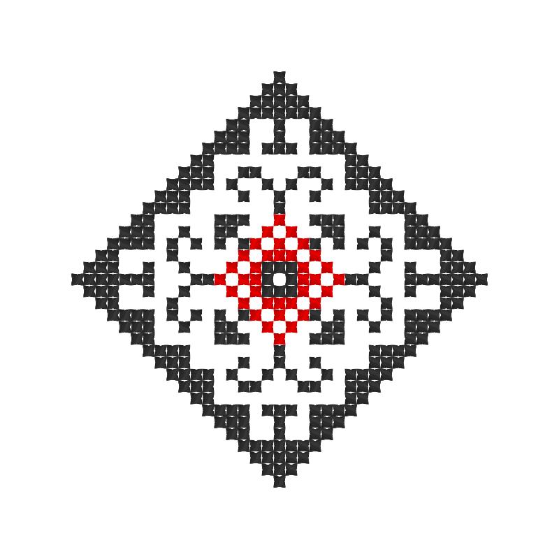 Текстовий слов'янський орнамент: Бодя1