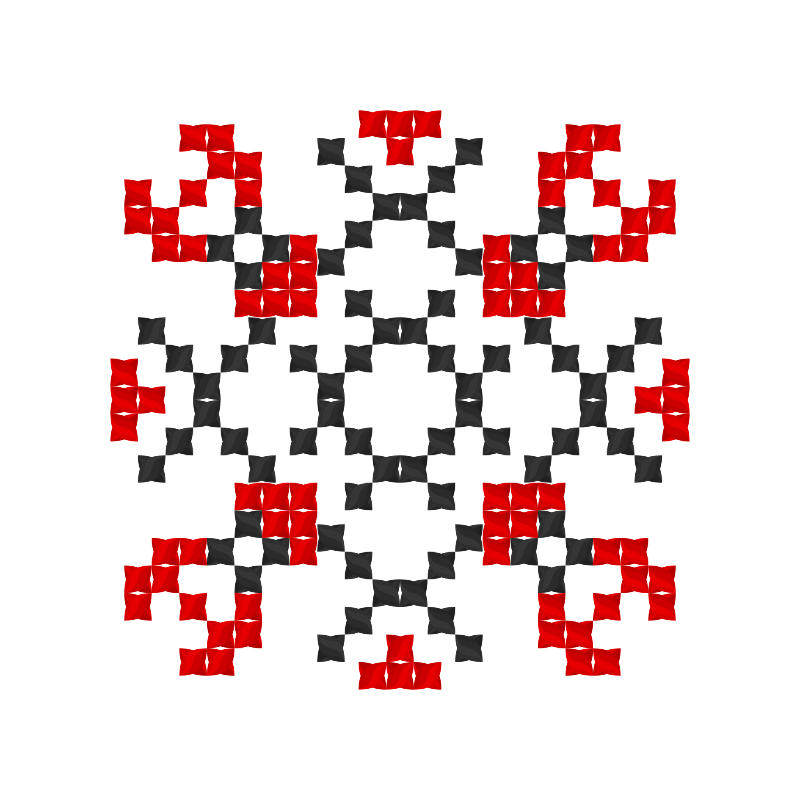 Текстовий слов'янський орнамент: платон