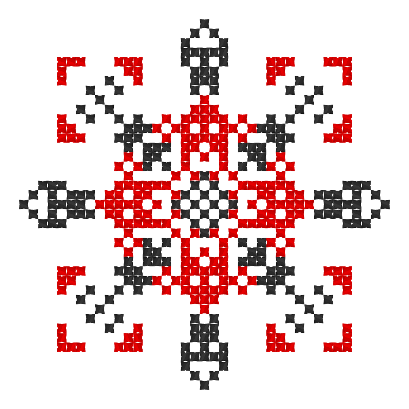 Текстовий слов'янський орнамент: пам'ятай головне