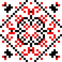 Текстовый украинский орнамент: оберіг