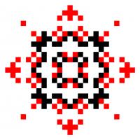 Текстовый украинский орнамент: Соломія