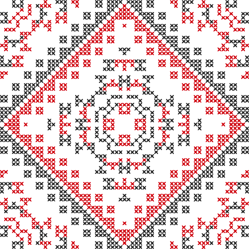 Текстовий слов'янський орнамент: Орнамент