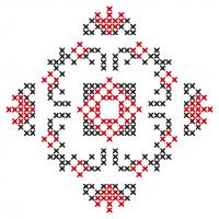 Текстовый украинский орнамент: Даромир