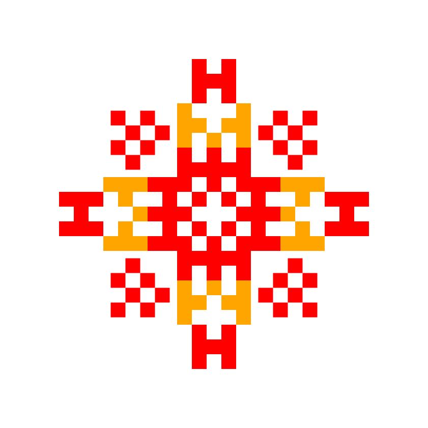 Текстовий слов'янський орнамент: Семен