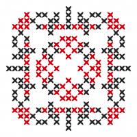 Текстовый украинский орнамент: Довiра