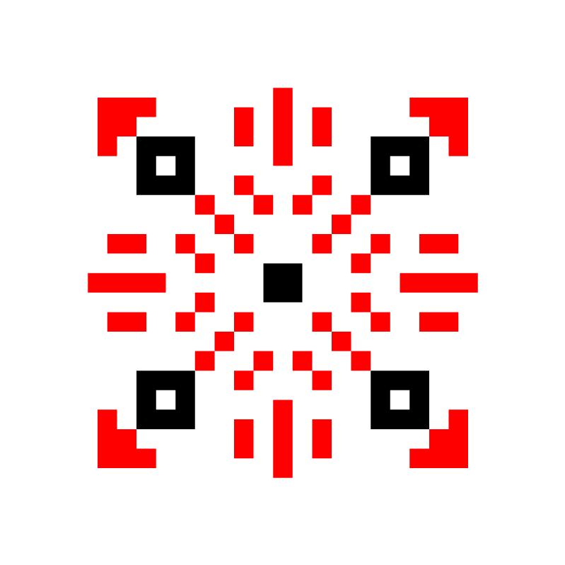 Текстовий слов'янський орнамент: ВОВА