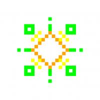 Текстовый украинский орнамент: літо