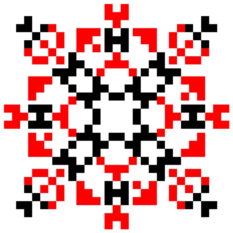 Текстовий слов'янський орнамент: мамницкая