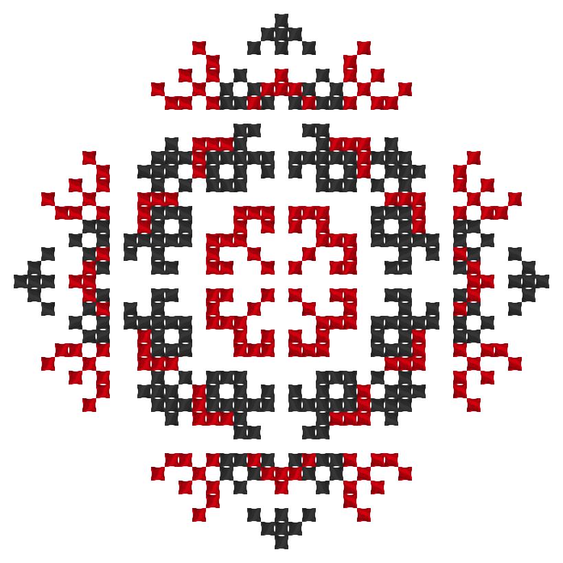 Текстовий слов'янський орнамент: България