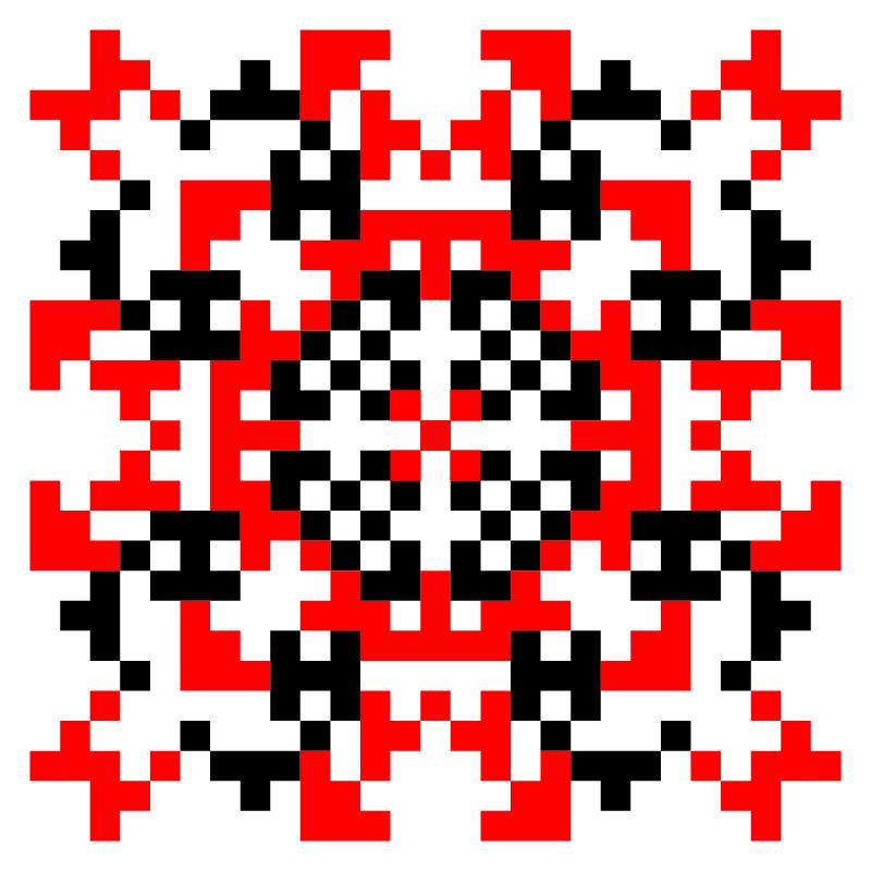 Текстовий слов'янський орнамент: хресна мама
