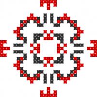 Текстовый украинский орнамент: Карате
