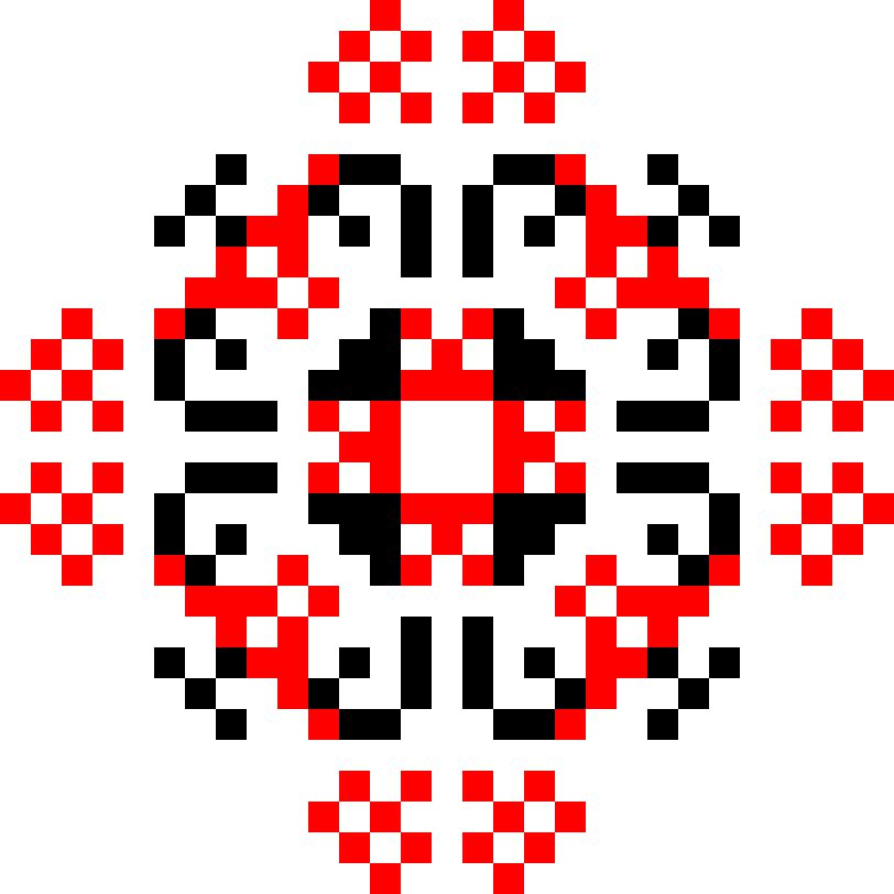 Текстовий слов'янський орнамент: Карате