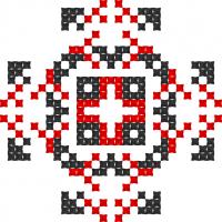 Текстовый украинский орнамент: Почуття