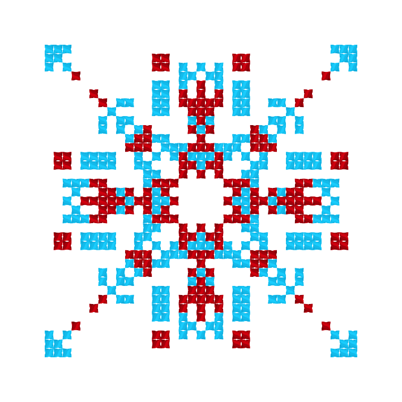 Текстовий слов'янський орнамент: Максим і Надія