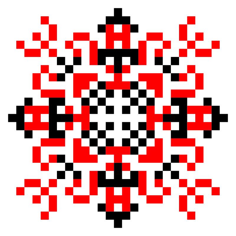 Текстовий слов'янський орнамент: екатерина