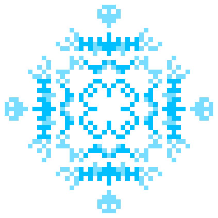 Текстовий слов'янський орнамент: Блакитний