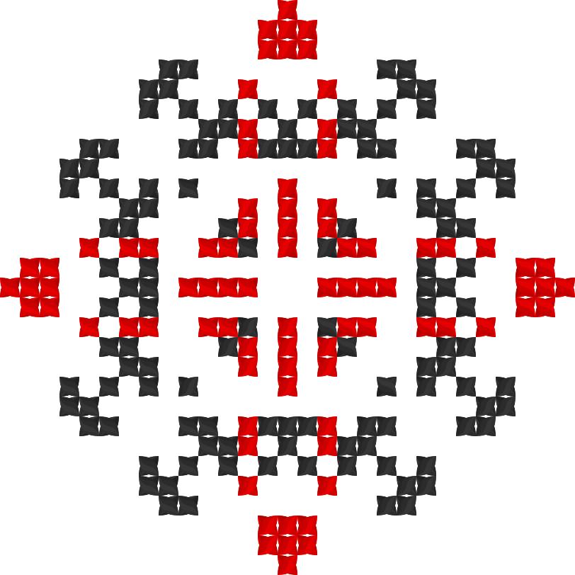 Текстовий слов'янський орнамент: Вікінг