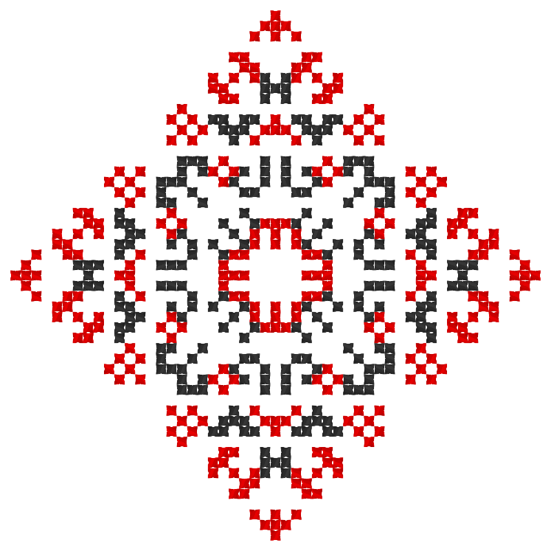 Текстовий слов'янський орнамент: Євробачення